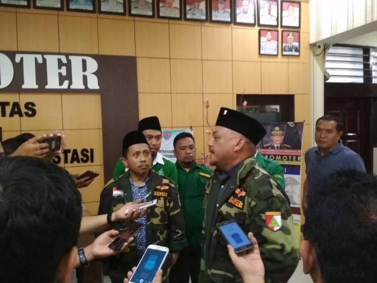 GP.Ansor Dan Banser Kotamobagu Laporkan Pemilik Akun Akun FB Ke Polres Kotamobagu