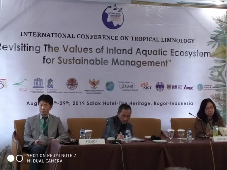 Prof Nelson Pomalingo Paparkan Gambaran Umum Problema Danau Limboto Di Seminar Bogor