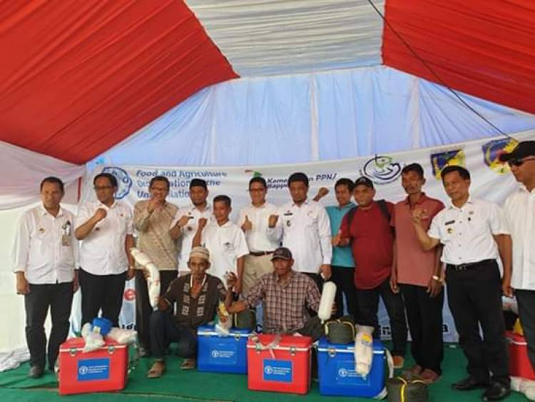 Masyarakat Donggala Terima Bantuan Sektor Perikanan Dari FAO
