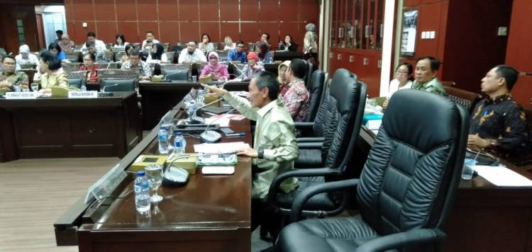 Di Hadapan Wakil Rakyat DPR-RI, Prof. Nelson Pomalingo : Ulas Tuntas Strategis Penurunan Stunting Di Kabupaten Gorontalo