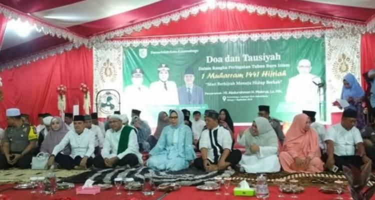 Pemkot Kotamobagu Gelar Doa Dan Tausiyah Di Lapangan Boki Hotinimbang