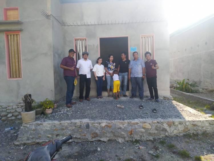 Tim Bank Dunia dan Konsultan PUPR Propinsi Lakukan Monitoring Program BSPS Desa Tumora