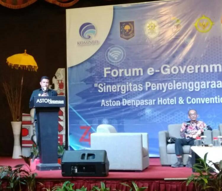 Ketua Umum Haris Soeparto Tome Di Hadapan Direktur LAIP Kementerian Komunikasi Dan Informatika Paparkan Rekomendasi