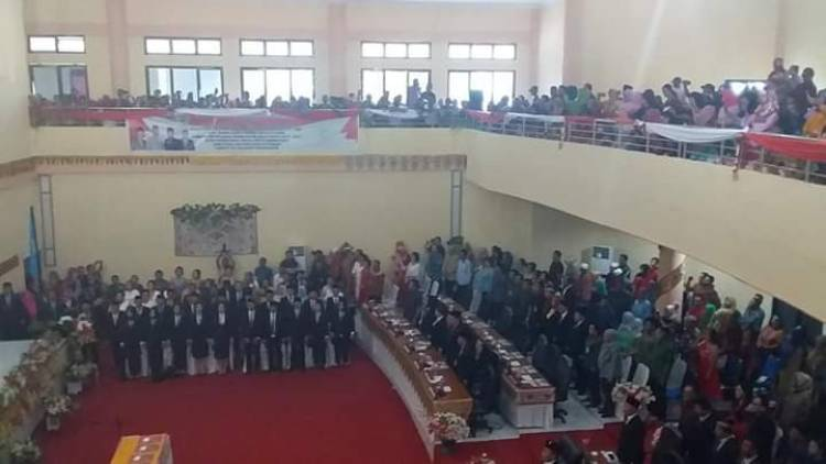 30 Anggota DPRD Bolmong Periode 2019-2024 Dilantik