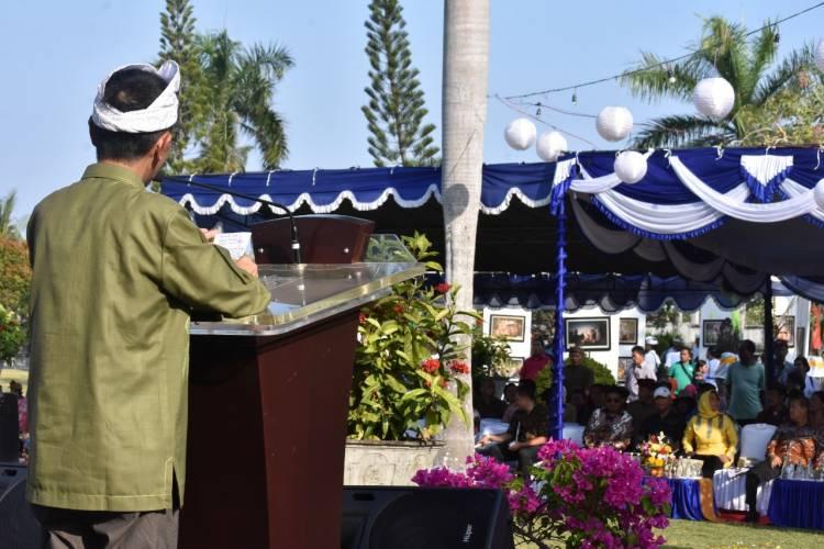 Di Hadiri Delapan Negara, Prof. Nelson Pomalingo : Buka Secara Resmi Festival Subak Karangasem Dan Internasional Coconut Festival Tahun 2019