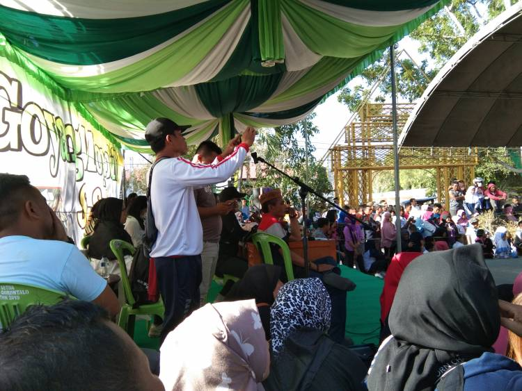 Breaking News : Pra Event Goyang Mopobibi Di Festival Pesona Danau Limboto Masuk Grand Final