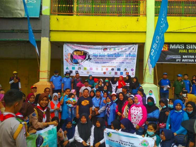 Wakil Walikota Kotamobagu Hadiri World Clean Up Day 2019