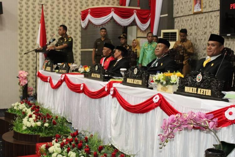 Para Wakil Rakyat Tanda Tangani Fakta Integritas, Dr. Supriyanto : Paparkan Pencegahan Korupsi Dalam Pembahasan Dan Pelaksanaan APBD