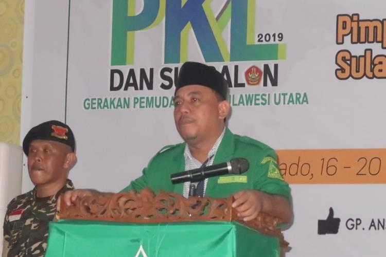 PW GP Ansor Sulut Gelar PKL Angakatan II Dan Susbalan Angkatan I