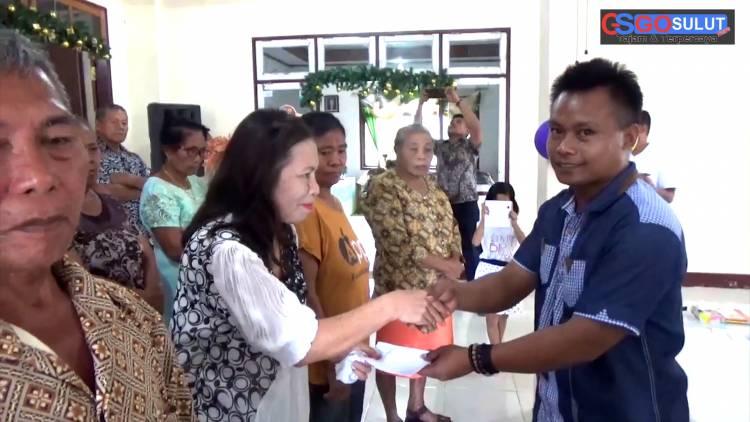 Perdana, LSM Jangkar Porodisa ibadah Pra Natal bersama puluhan Lansia jemaat Gereja Bukit Sinai Melonguane