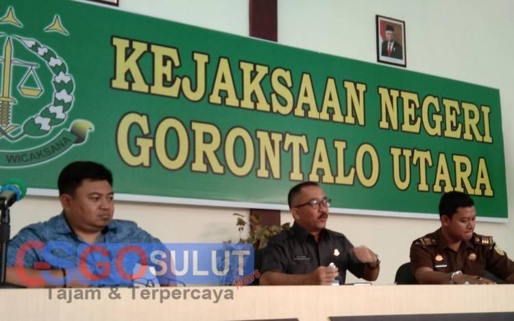 Kejari Gorut Revanda Sitepu,SH,MH Lakukan Jumpa PERS Di Akhir Tahun 2019