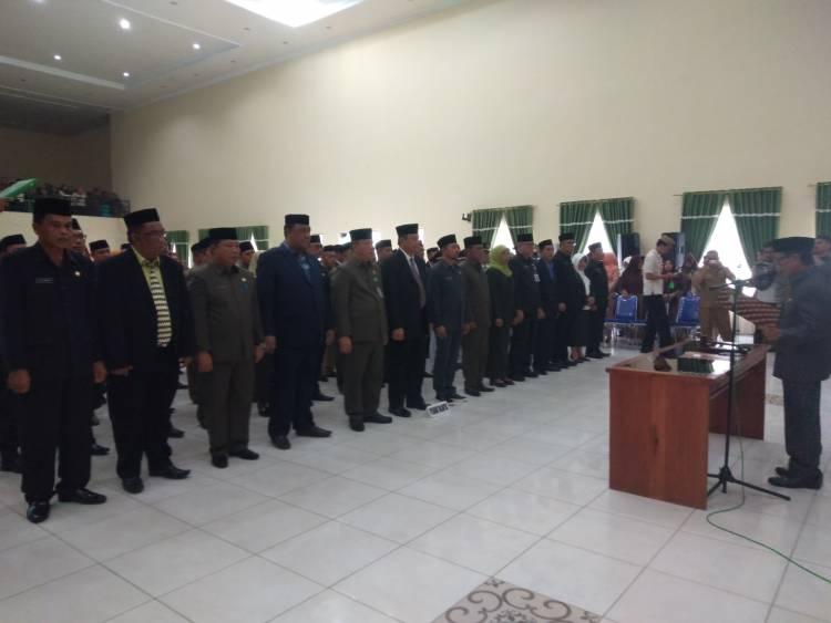 Pemerintah Daerah Kabupaten Gorontalo Kembali Rotasi 78 Pegawai Untuk Jabatan Tinggi Pratama Dan Administrator