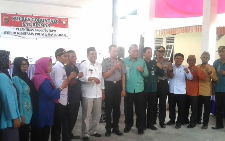 Drs. Selmin Papeo Resmi Lantik FKPM, Kasat Binmas Supriyadi : FKPM Harus Jadi Panutan
