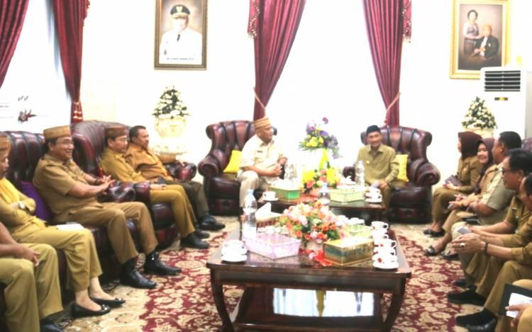 Gubernur Gorontalo : Program Pemerintah Kabupaten Gorontalo Selalu Terkoordinasi