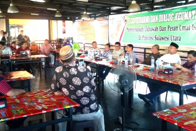 Prof. Nelson Pomalingo Langsungkan Silaturahmi Dengan Para Tokoh Di Sulawesi Utara