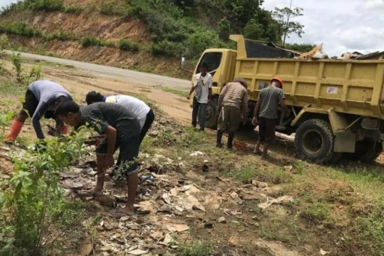Jalan GORR Jadi Pembuangan Sampah, Gubernur Gorontalo : Pemda Diminta Peduli