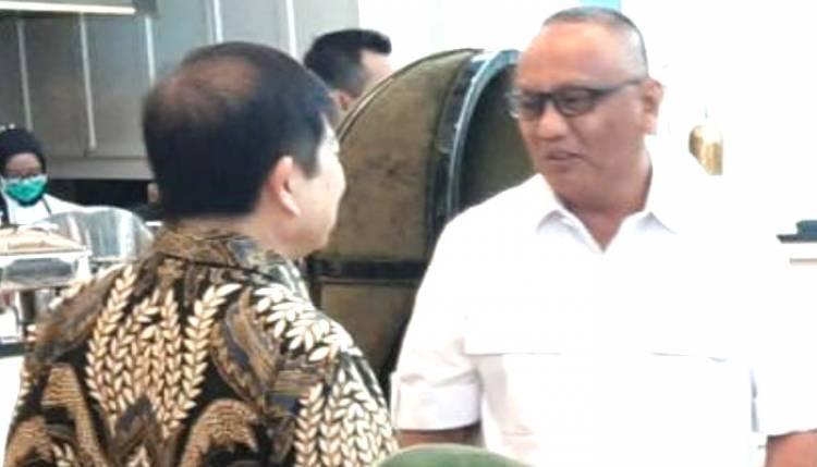 RH Temui  Menteri Bappenas Laporkan Kesiapan Lelang,  Suharso Monoarfa :  Skema KPBU  Solusi Bagi Daerah