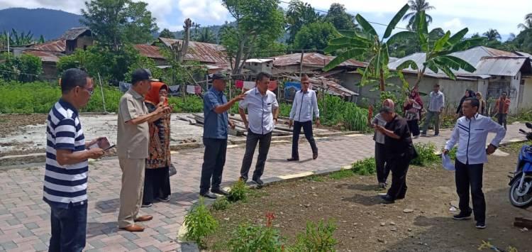 Dapil 6 DPRD Provinsi Tinjau Pengerjaan Jalan Desa di Kecamatan Tilamuta