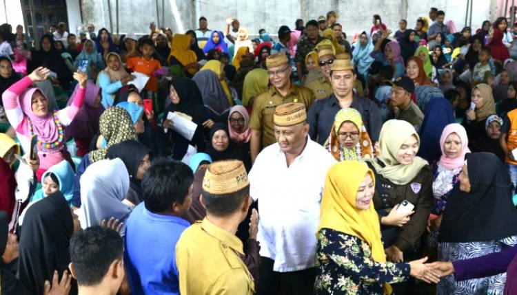 Demi Rakyat Gorontalo, Rusli Habibie : NKRI Peduli Akan Dilaksanakan Setiap Minggu