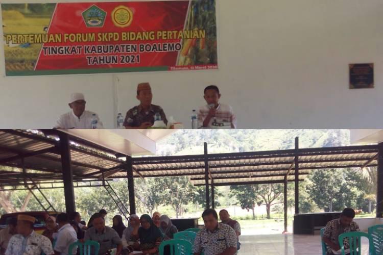 Laksanakan Forum OPD Dinas Pertanian, Kadis Gerson : RKPD Harus Sesuai Kebutuhan Petani