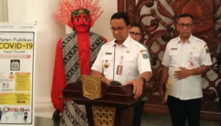 Jakarta  Menjadi Kawasan Episentrum Virus Corona Covid-19