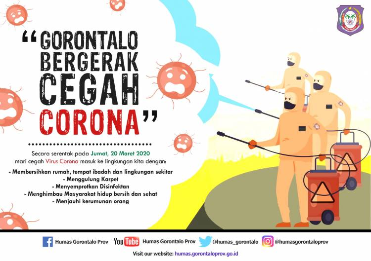 Pejabat Eksekutif Dan Legislatif di Provinsi Gorontalo Harus Tes Virus Corona