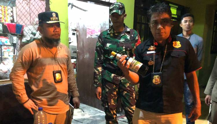 Operasi Gabungan Satpol-PP Kabupaten Gorontalo, Di Bawah Komando Muh. Taufik Margono Sisir Tempat Kos, Miras Dan Hiburan Malam