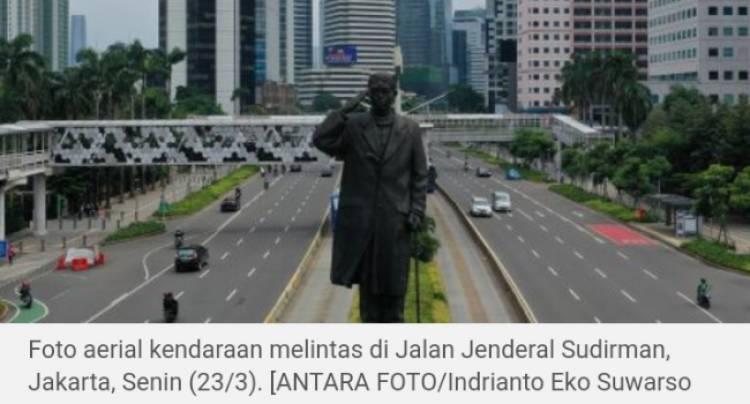 Setengah Populasi Indonesia, Bakal Terinfeksi Corona, Bila Tak Lockdown