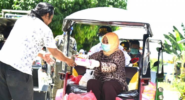 Rakyat Terus Doakan Gubernur Gorontalo bersama Istri , Rusli Habibie : Semuanya Uang  Rakyat