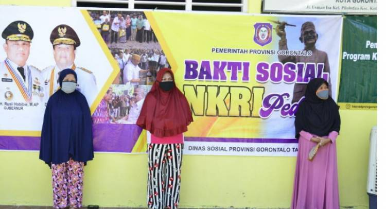 Gubernur Gorontalo : Dampak Covid -19 Bakal Tiga Kali Menerima Bantuan