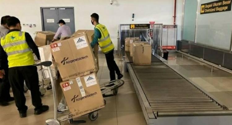 50 Ribu Alat Tes PCR dari Korsel Tiba di Indonesia