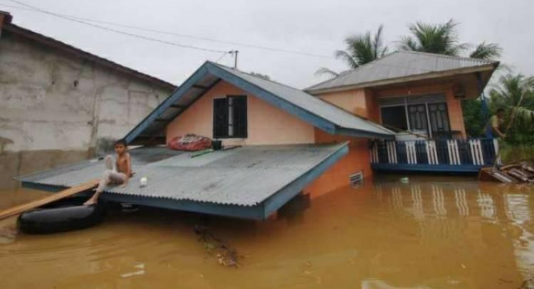200 Rumah di Tenggamus Terendam Banjir