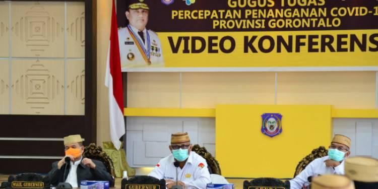 Pergub PSBB Dibahas Bersama Tim Gugus Covid-29, Gubernur Gorontalo : Berlaku Pada Tanggal 3 s/d 17 Mei 2020