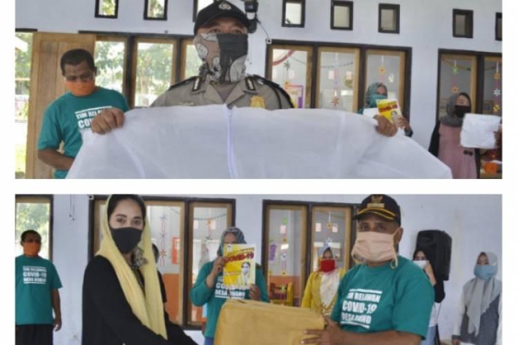 Srikandi Golkar Salurkan Bantuan, Petugas: Terimakasih Bu Yeyen Atas APD, Masker dan Vitaminnya