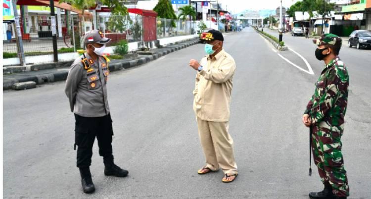Situasi Kota Gorontalo Hari Pertama Pencanangan PSBB,  Gubernur Gorontalo : Penindakan Mulai 7 Mei  s/d 17 Mei 2020