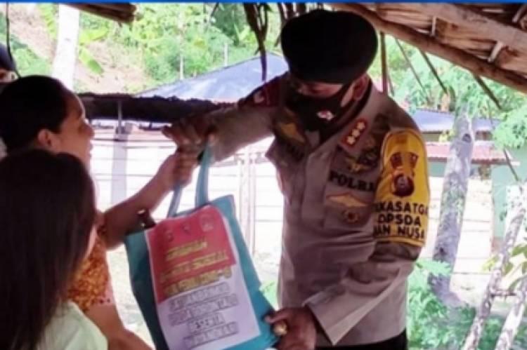 Brimob Polda Gorontalo Giat Kawal Penerapan PSBB, Dari Dapur, Penjagaan, Patroli, Sosialisasi, Operasi sampai Penyemprotan Disinfektan