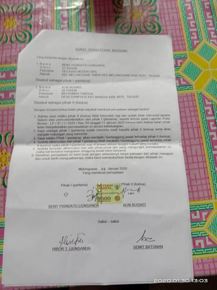 Kisah Pilu Keluarga Korban Pencabulan di Talaud Yang Mencari Keadilan Kepada Penegak Hukum