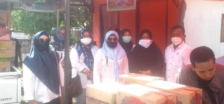 Kades Desa Tolomato  Sampaikan Terima Kasih Ke DPD-REI Gorontalo Yang Di Pimpin Kristina Basowan