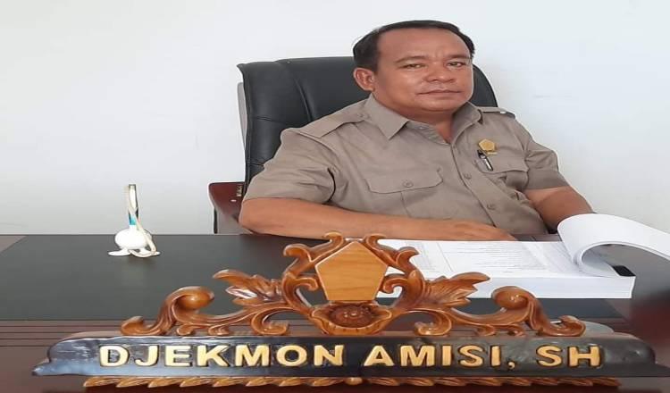 Diisukan Terpapar Covid-19, Anggota DPRD Djekmon Amisi : Saya Akan Pidanakan Penyebar Isu
