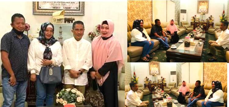 Silahturahmi DPD-REI Gorontalo Disambut Hangat Bupati Nelson Pomalingo