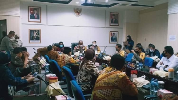 Komisi 2- Polda Gorontalo Lakukan Sinergitas Soal Pengawasan Pangan