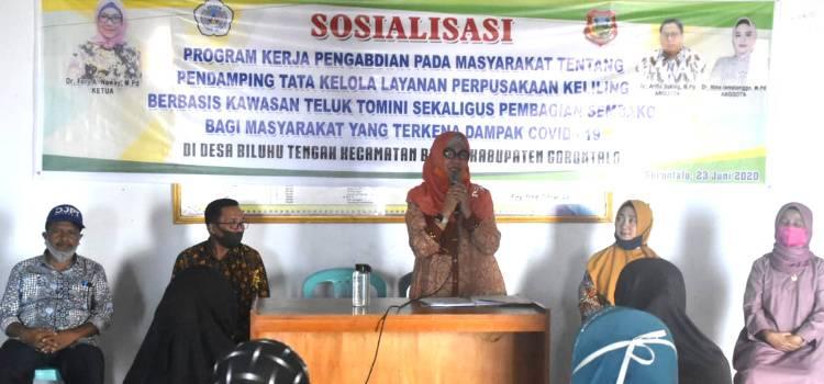 Fory Naway : Desa Biluhu Tengah Pilot Project Wisata Literasi