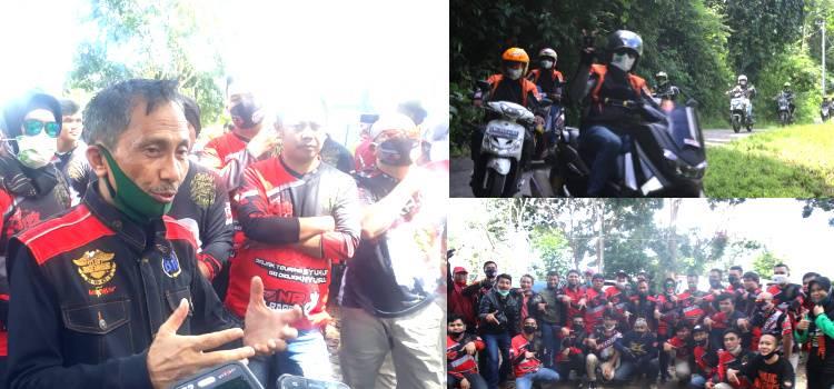 Kolaborasi Dengan Komunitas Motor Pemerintah Kabupaten Gorontalo Promosikan Wisata