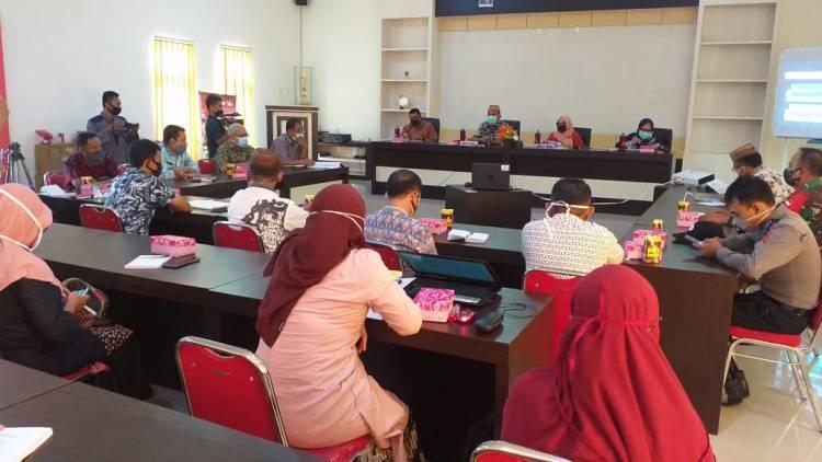 Wabup Anas Jusuf Pimpin Rapat Evaluasi Percepatan Penanganan Covid-19