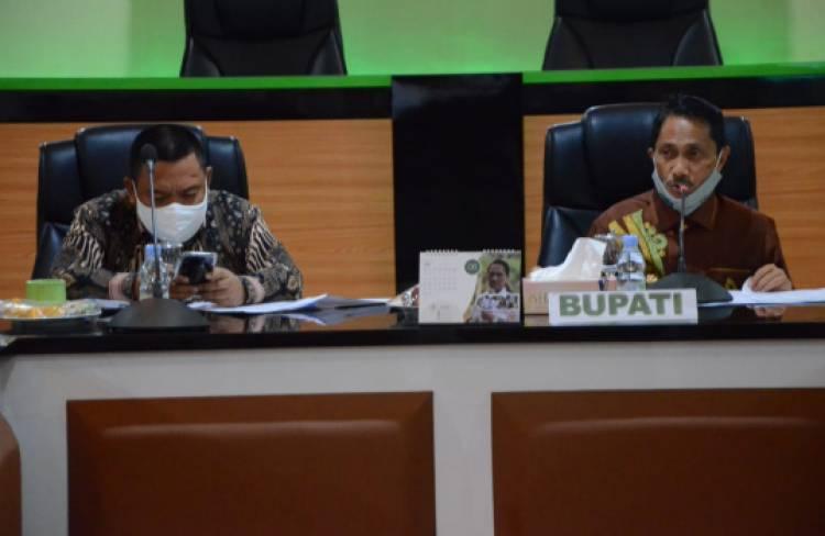 Ini 5 Pokok Yang Di Bahas Lewat Forkopimda Kabupaten Gorontalo