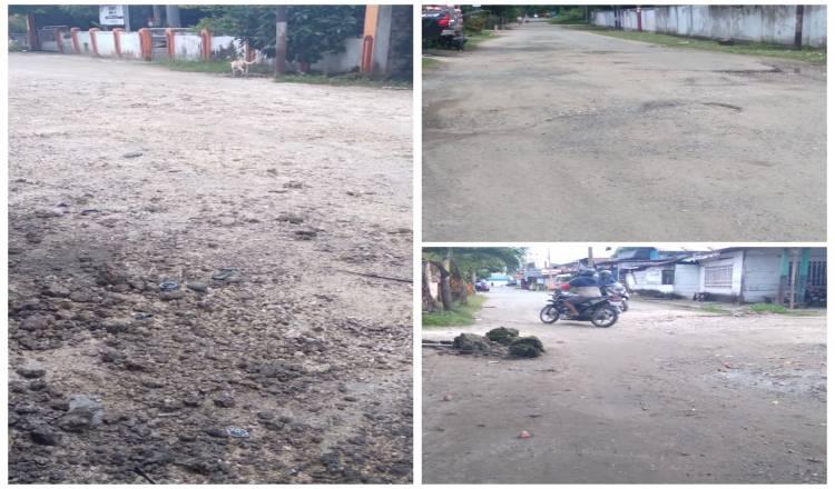 """Tak Punya Saluran Pembuangan Air, Kota Melonguane """"Kumuh"""" Pada Musim Hujan"""