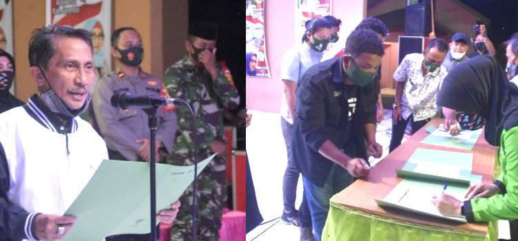 Pengurus Manajer Offcial Club Di Mootilango Dikukuhkan Bupati Gorontalo Nelson Pomalingo
