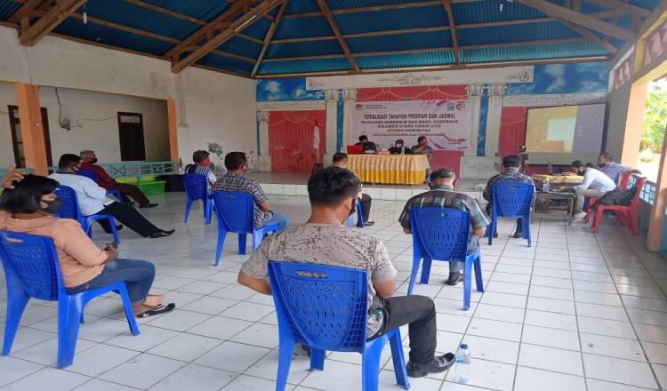 KPU Talaud Gelar Sosialisasi Tahapan Program dan Jadwal Pemilihan