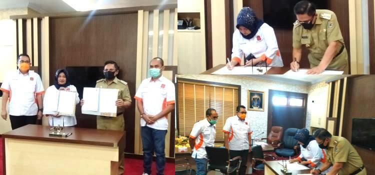 DPD REI Gorontalo Teken MoU Dengan Pemkot