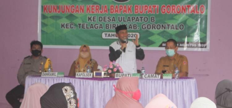 Nelson Pomalingo Puji Pemerintah Desa Dan Masyarakat Ulapato B Kecamatan Telaga Biru